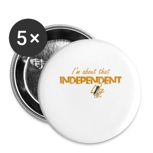 The Independent Life Gear - Large Buttons