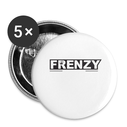 Frenzy - Buttons large 2.2'' (5-pack)