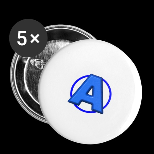Awesomegamer Logo - Buttons large 2.2'' (5-pack)