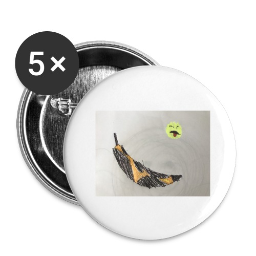 Bad Banana - Buttons large 2.2'' (5-pack)