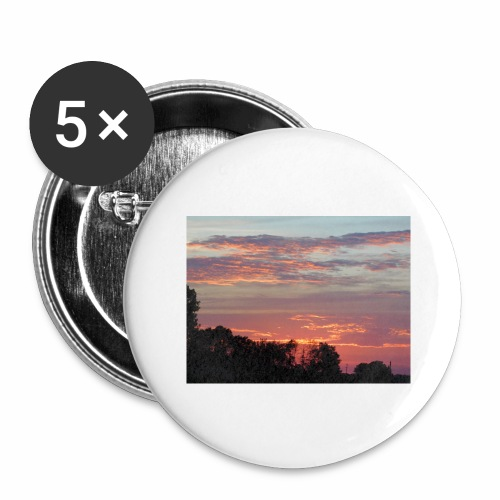 Sunset of Pastels - Buttons large 2.2'' (5-pack)