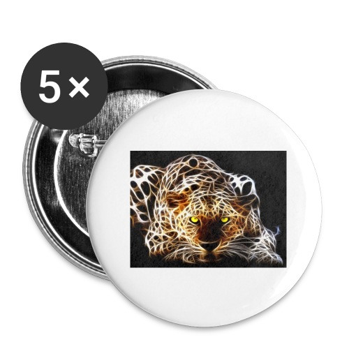 close for people and kids - Buttons large 2.2'' (5-pack)