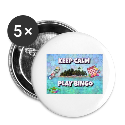 SELL1 - Buttons large 2.2'' (5-pack)