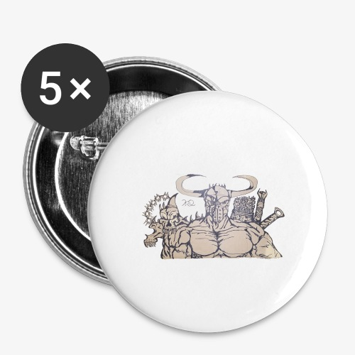 bdealers69 art - Buttons large 2.2'' (5-pack)