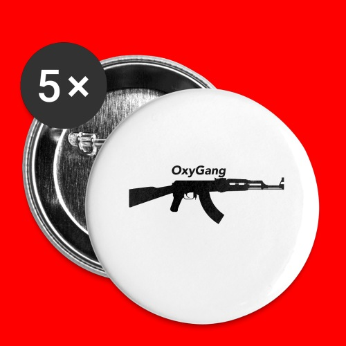 OxyGang: AK-47 Products - Buttons large 2.2'' (5-pack)