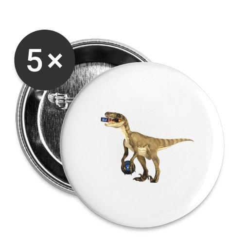 amraptor - Buttons large 2.2'' (5-pack)