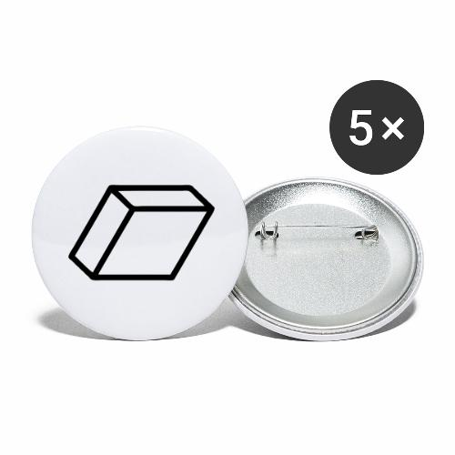 rhombus3 ai - Buttons large 2.2'' (5-pack)