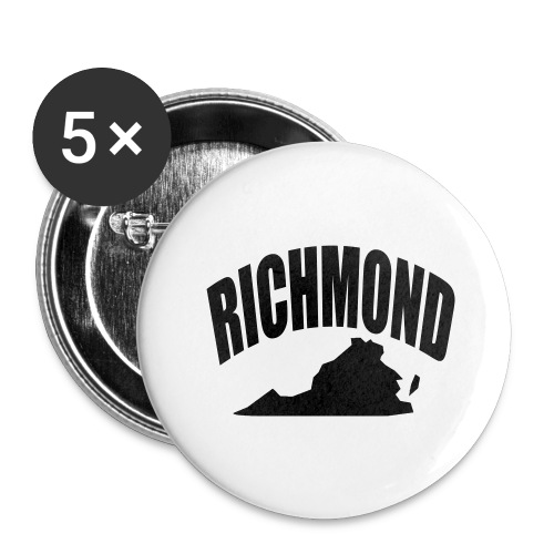 RICHMOND - Buttons large 2.2'' (5-pack)