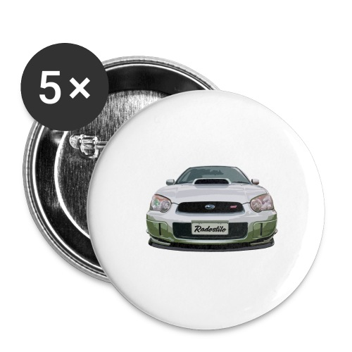 Subaru WRX Second Generation - Buttons large 2.2'' (5-pack)