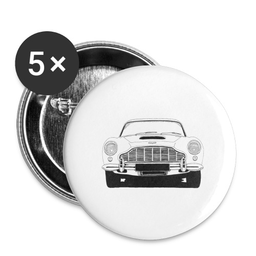 aston martin - Buttons large 2.2'' (5-pack)
