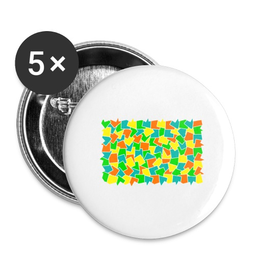 Dynamic movement - Buttons large 2.2'' (5-pack)