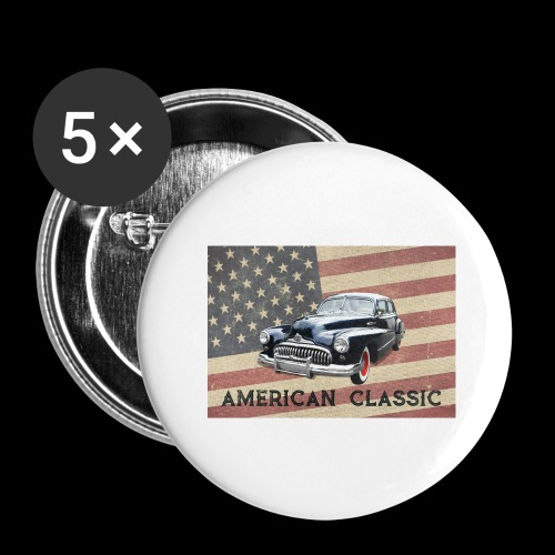 Classic Buick - Buttons large 2.2'' (5-pack)