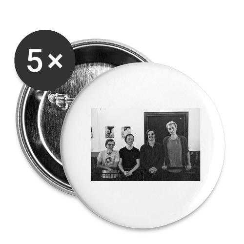groupphoto - Buttons large 2.2'' (5-pack)