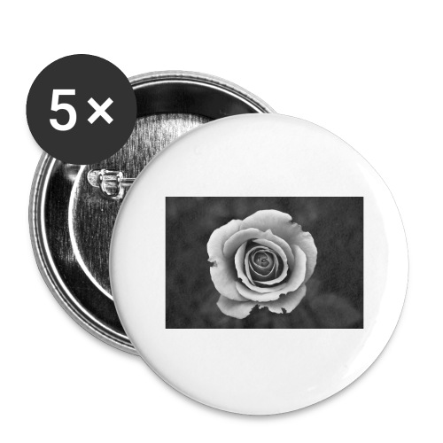 dark rose - Buttons large 2.2'' (5-pack)