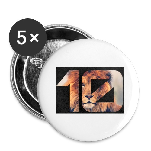 YRBN - Buttons large 2.2'' (5-pack)