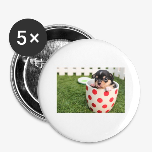 chihuahua dog - Buttons large 2.2'' (5-pack)