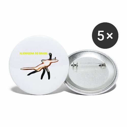 ALIENI GENA DO BRASIL - Buttons large 2.2'' (5-pack)