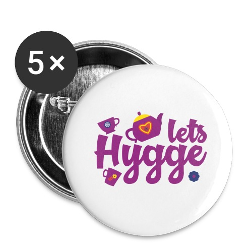 Lets Hygge - Buttons large 2.2'' (5-pack)