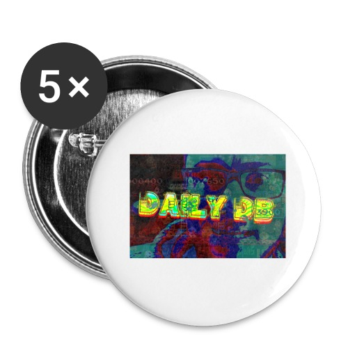 daily db poster - Buttons large 2.2'' (5-pack)