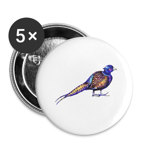Pheasant - Buttons large 2.2'' (5-pack)