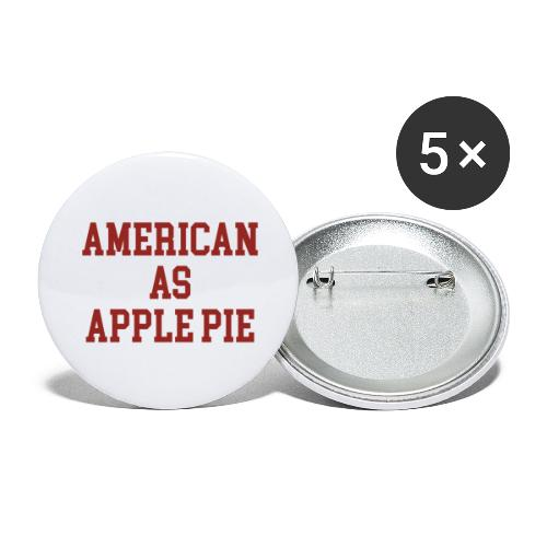 American as Apple Pie - Buttons large 2.2'' (5-pack)