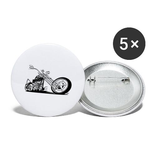 Custom American Chopper Motorcycle - Buttons large 2.2'' (5-pack)
