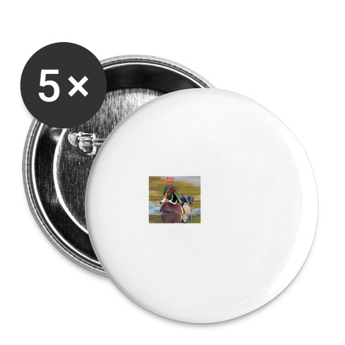 duck_life - Buttons large 2.2'' (5-pack)