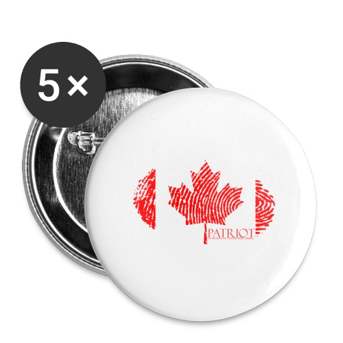 Canadian Identity - Buttons large 2.2'' (5-pack)