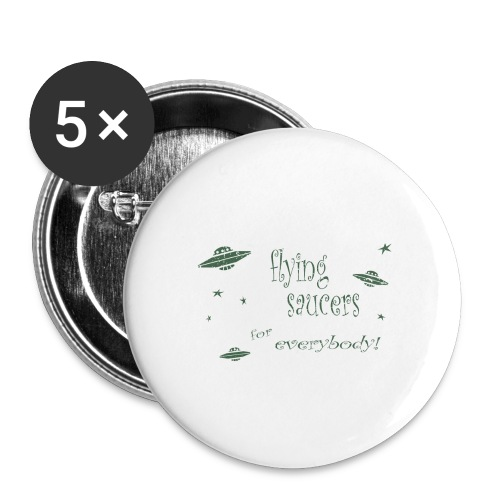 CE3_-_Flying_Saucers - Buttons large 2.2'' (5-pack)