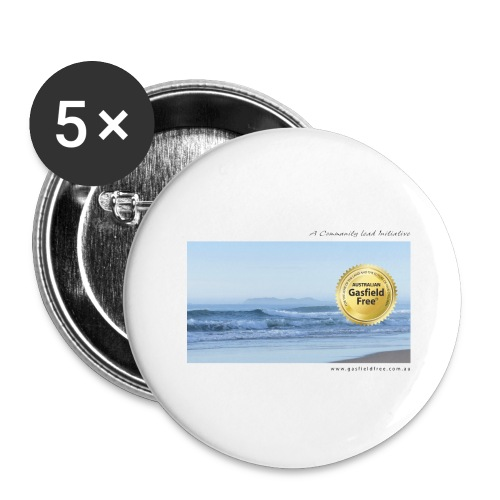 Beach Collection 1 - Buttons large 2.2'' (5-pack)