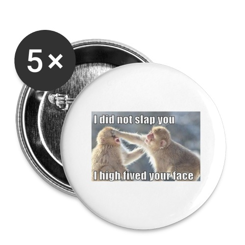 funny animal memes shirt - Buttons large 2.2'' (5-pack)
