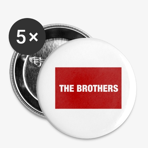 The Brothers - Buttons large 2.2'' (5-pack)