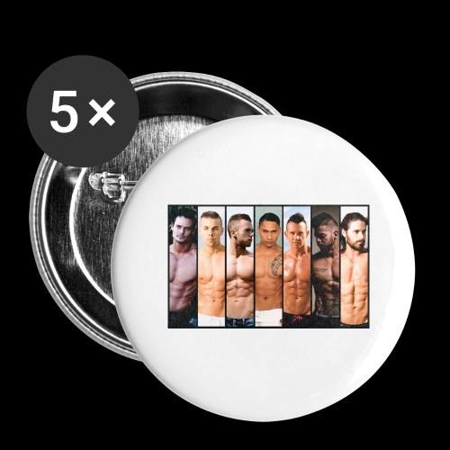 Hong Kong 2018 BILLBOARD - Buttons large 2.2'' (5-pack)