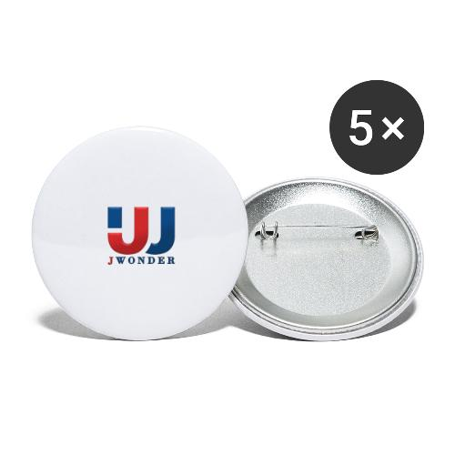 jwonder brand - Buttons large 2.2'' (5-pack)