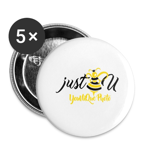 BeeYourSelf - Buttons large 2.2'' (5-pack)