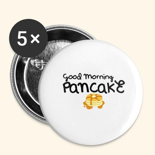 Good Morning Pancake Mug - Buttons large 2.2'' (5-pack)