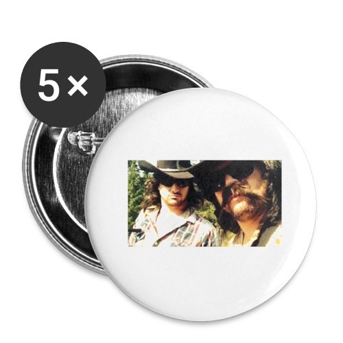 Jaw Thrust Cover Art - Buttons large 2.2'' (5-pack)