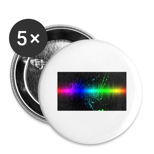 Keep It Real - Buttons large 2.2'' (5-pack)