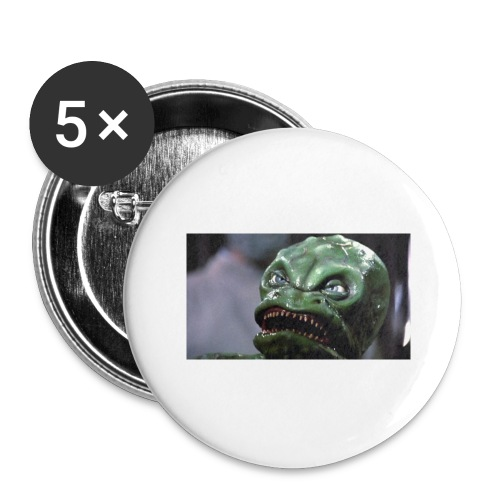 Lizard baby from Z - Buttons large 2.2'' (5-pack)