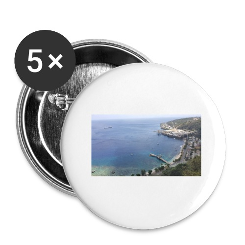 Christmas Island - Buttons large 2.2'' (5-pack)