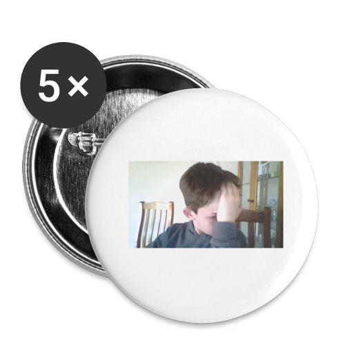 Luiz FAce!! - Buttons large 2.2'' (5-pack)