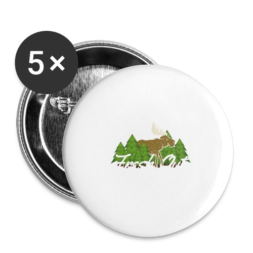 Fresh Out Nature Collection - Buttons large 2.2'' (5-pack)