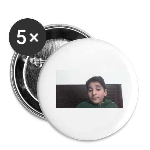 Dont Think Just BUY - Buttons large 2.2'' (5-pack)