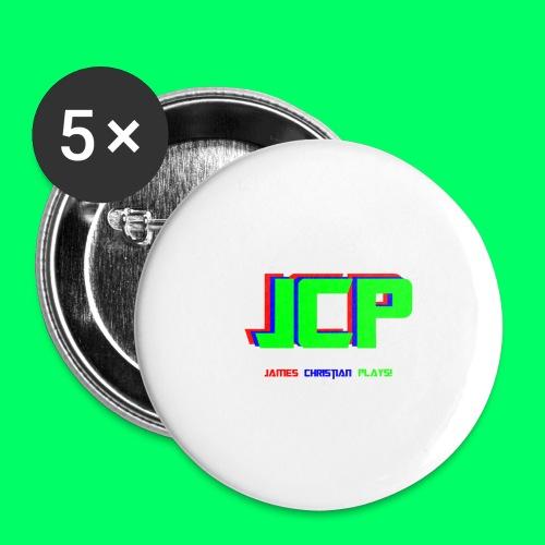 James Christian Plays! Original Set - Buttons large 2.2'' (5-pack)