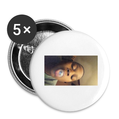 Darius - Buttons large 2.2'' (5-pack)