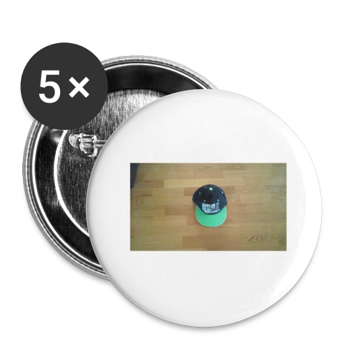 Hat boy - Buttons large 2.2'' (5-pack)