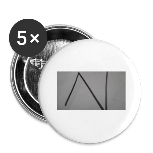 The n team - Buttons large 2.2'' (5-pack)