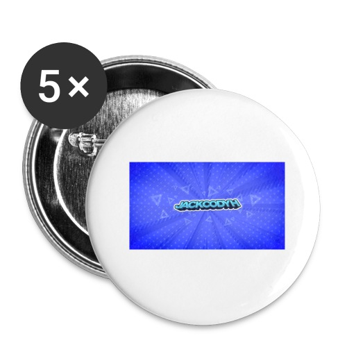 JackCodyH logo - Buttons large 2.2'' (5-pack)