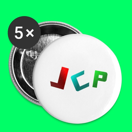JCP 2018 Merchandise - Buttons large 2.2'' (5-pack)