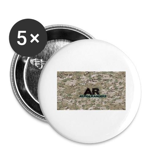Alpha Ranger Apperal - Buttons large 2.2'' (5-pack)